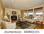 excellent living room with... | Shutterstock . vector #300802151