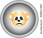 head icon | Shutterstock . vector #300817487