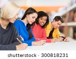 students  university  adults. | Shutterstock . vector #300818231