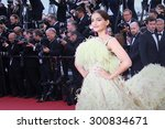 cannes  france   may 18  sonam... | Shutterstock . vector #300834671