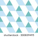 triangular background. seamless ... | Shutterstock .eps vector #300839495
