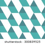 triangular background. seamless ... | Shutterstock .eps vector #300839525