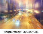 Blurred Background Traffic Jam...