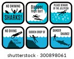 Vector Set Of Safety Signs At...