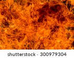 fire flame background | Shutterstock . vector #300979304