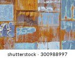 boards the finish on the wooden ... | Shutterstock . vector #300988997