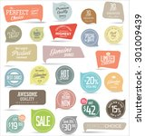 modern badges collection | Shutterstock .eps vector #301009439