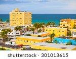 hollywood florida  usa.... | Shutterstock . vector #301013615