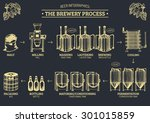 Vector Beer Infographics With...