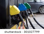 fuel oil dispenser at petrol... | Shutterstock . vector #301027799