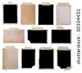 Vintage Photo Frames Set 1  Bi...