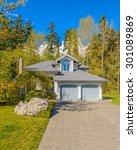 a perfect neighborhood. houses... | Shutterstock . vector #301089869