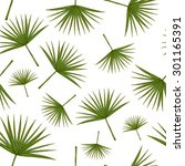 vector seamless pattern with... | Shutterstock .eps vector #301165391