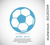 football icon. one of set web...