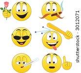 smileys | Shutterstock .eps vector #3012071