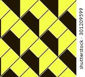 seamless pattern  abstract... | Shutterstock .eps vector #301209599