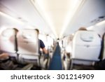 airport blurred background... | Shutterstock . vector #301214909