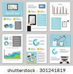 business infographic elements.... | Shutterstock .eps vector #301241819