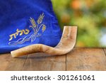 Image Of Shofar  Horn  And...
