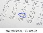 Close Up Photo Of A Calendar...