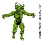 An Aggressive Tough Mean Green...