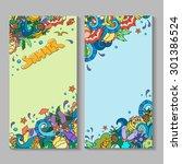 vector banner templates set ... | Shutterstock .eps vector #301386524