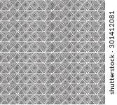 geometric seamless pattern in... | Shutterstock . vector #301412081