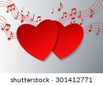 love music with hearts and...