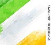 indian flag for indian... | Shutterstock .eps vector #301490957