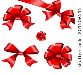bows design | Shutterstock .eps vector #301506515