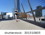 running woman | Shutterstock . vector #301510805