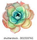 Hand Painted Watercolor...
