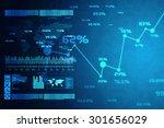 business graph   Shutterstock . vector #301656029