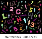 back to school. colorful... | Shutterstock . vector #30167251