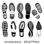 a collection of various highly... | Shutterstock .eps vector #301679561