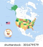 a high detail vector map of the ... | Shutterstock .eps vector #301679579