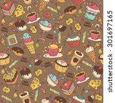 food background   vector | Shutterstock .eps vector #301697165
