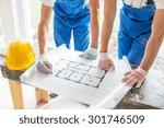 building  renovation  repair ... | Shutterstock . vector #301746509