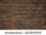 ancient and old wooden... | Shutterstock . vector #301845395