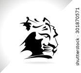 tiger vector | Shutterstock .eps vector #301870571