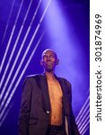 Small photo of NOVI SAD, SERBIA - JULY 12 2015: FAITHLESS performs at EXIT 2015 Music Festival, on July 12, 2015 at the Petrovaradin Fortress in Novi Sad, Serbia.