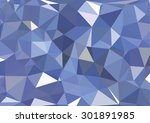 blue abstract  composed of blue ... | Shutterstock .eps vector #301891985