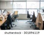 abstract blur business office... | Shutterstock . vector #301896119