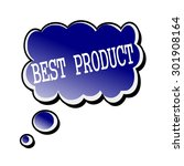 best product white stamp text... | Shutterstock . vector #301908164