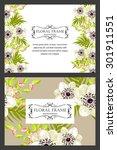 romantic invitation. wedding ... | Shutterstock .eps vector #301911551