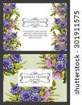 romantic invitation. wedding ... | Shutterstock .eps vector #301911575