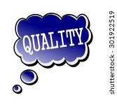 quality white stamp text on... | Shutterstock . vector #301922519