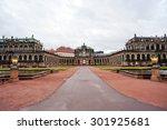 zwinger museum in dresden  ... | Shutterstock . vector #301925681