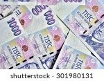 Czech Banknotes Crowns  One...