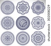 Mandala. Vintage Decorative...